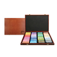 Mungyo Gallery MOPV-72W Soft Oil Pastels Wood Box  of 72 Assorted Colors