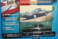 Johnny Lightning America's Finest Niles Twp, Michigan Police Ford Crown Victoria