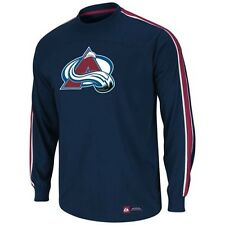 NHL Colorado Avalanche Long Sleeve Top Shelf Hockey Shirt New Mens Size SMALL