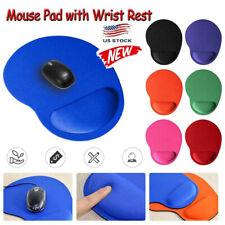 Ergonomic Comfort Wrist Support Mouse Pad Mice Mat Computer PC Laptop Non Slip -