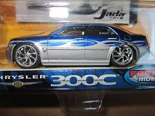 Jada Dub City Kustoms Chrysler 300C 1:64 Scale Blue Silver