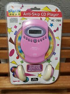 Street Beat Anti-Skip CD Player Compact Disc Digital Audio KC-720 Portable Pink