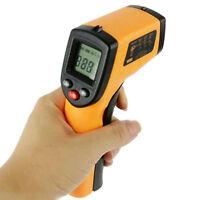 HEISS Digital IR Infrarot Thermometer Laser Temperatur Messgerät -50°C bis 330°C