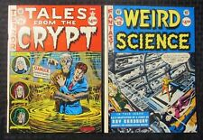 1988 EC CLASSICS #11 & 12 LOT of 2 FN-/FN Weird Science Tales from The Crypt