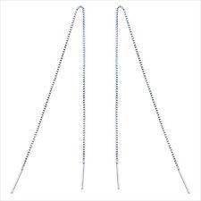 Ohrringe Durchzieher extra lang 10-20 cm echt Sterlingsilber 925 Damen Ohrhänger