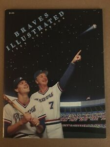 1986 Atlanta Braves Yearbook Mint *MELS*