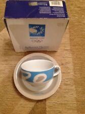 Athens 2004 Olympic Games Italian coffee cup and saucer (Boxed)