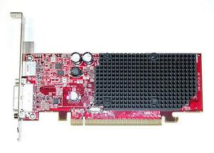 Dell Ati Radeon X1300 128MB Pci-E Carte Vidéo NP720 DVI Complet Profil