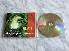 Nirvana All Apologies. Rape Me CD Single 1993 Germany Import  Geffen GED21880