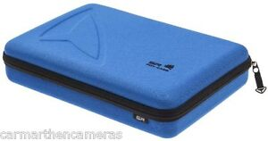 SP Large Camera Storage Case for GoPro Camera and accessories - Blue