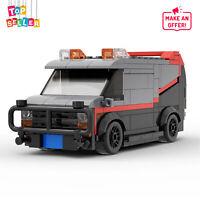 A-Team GMC Vandura Van Classic GMC Vandura Van MOC-20604 Building Toys Sets