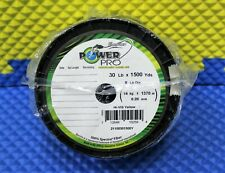Power Pro Microfilament Braided Fishing Line 30 lb.1500 yds. Hi-VIS Yellow 16202