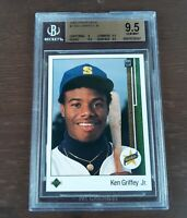 1989 Ken Griffey Jr. Upper Deck #1 (RC) Rookie BGS 9.5 Gem Mint