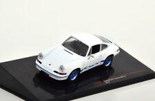 1:43 Ixo Porsche 911 Carrera RS 2.7 1973 white/blue