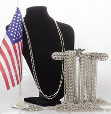 """50 of  28""""  Stainless Steel Ball Chains  Necklace"""