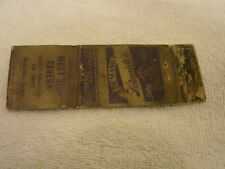SCHMIDT'S CITY CLUB BEER MATCHBOOK COVER WEST SIDE TAVERN OSCEOLA IOWA