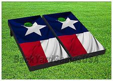 Vinyl Wraps Cornhole Boards Decals Texas Flag BagToss Game Stickers 384