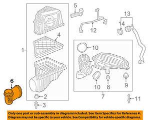 GM OEM Air Cleaner Intake-Intake Duct Tube Hose 23100544