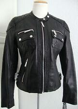 MICHAEL KORS Lederjacke Damen Jacke Lammnappa Leather Black Gr.XXL  NEU+ETIKETT