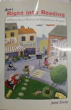 Right into Reading A Phonics-Based Reading and Comprehension Program Book 1-Used