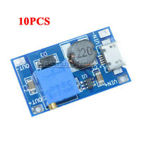 10PCS 2A Booster Board DC-DC MT3608 Step-Up 2/24V to 5/9/12/28V Replace XL6009