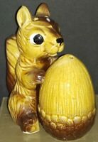 Squirrel and Nut Salt and Pepper Shaker Japan