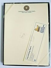 Vintage University of Notre Dame Stationary Set Boxed Writing Paper