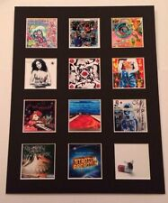 """Red Hot Chili Peppers 14"""" by 11"""" LP Covers Picture Mounted Ready to Frame"""