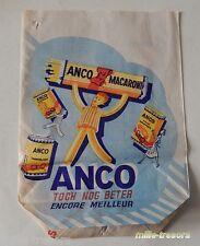 Sachet publicitaire ANCO Macaroni - Semoule - Farine - Encore MEILLEUR