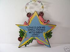 INSPIRATIONAL SIGN MOTHER TERESA QUOTE SHELIA'S
