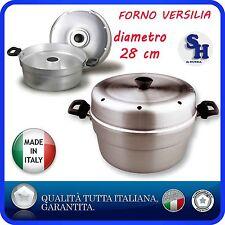 TEGLIA STAMPO FORNO VERSILIA CIAMBELLA ALLUMINIO PENTALUX DIAM.28 MADE IN ITALY
