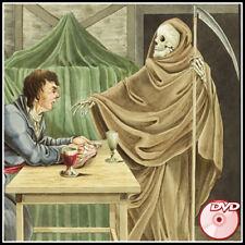 BOOKS OF DEATH - Antique Strange Curious Horror Holbein - Totentanz - DVD