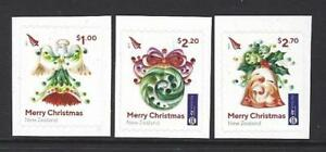 NEW ZEALAND 2017 CHRISTMAS SELF ADHESIVE EX. BOOKLET  UNMOUNTED MINT, MNH
