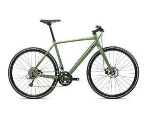 Orbea Vector 30 Large Size Green 8 Speed Lightweight City Bike. Disc Brakes NEW