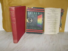 Colours and How We See Them by Hartridge, Hamilton- SIGNED -HB+DC  -1st edition