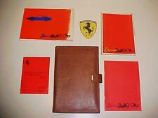 Ferrari 246 Owners Manual_Leather Pouch_Spare Parts Book_Dealer Directory Dino