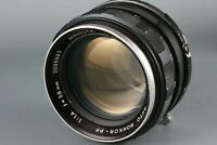 Minolta AUTO ROKKOR PF 58mm f/1.4 Manual Focus Lens SRT 101 303 100 X700 #201