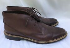 Penguin by Munsingwear Brown Leather Chukka Lace Up Ankle Boots Sz 12 Excellent