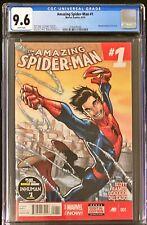 Amazing Spider-Man 1 (2014) - CGC - 9.6 - 1st Cameo of Cindy Moon (Silk)