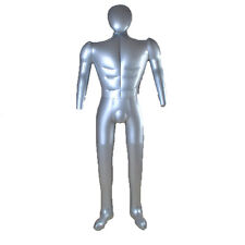 New Man Whole Body With Arm Inflatable Mannequin Fashion Dummy Torso Model 1028