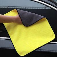 Absorbent Car Wash Microfiber Towel Drying Cloth Car Cleaning Towel 30cmX40cmJCA