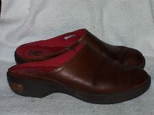 Women's Genuine Leather Clogs by Crocs - Worn a Couple of Times - Sz 7