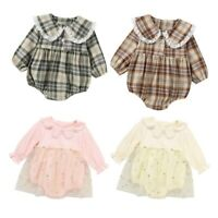 Baby Girls Romper Tutu Skirt Newborn Clothes Birthday Party Jumpsuit Outfits