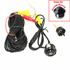 Auto Rear Front Side Rotatable Reversible 360 Degree View Parking Back Up Camera