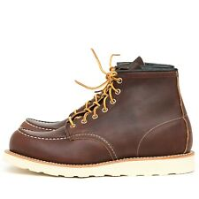 RED WING MOC TOE BOOTS 8138 BRIER OIL SLICK UK10 US11