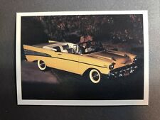 1957 Chevrolet Bel Air Canvertible, Dream Machines Trading Card RARE!! Awesome