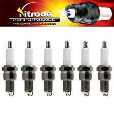 Nitrode Performance Car Spark Plugs for Plymouth 1974 PB200 Van NP23 - Set of 6