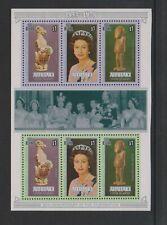 Aitutaki - 1978, Coronation Feuille - MNH - Sg MS260