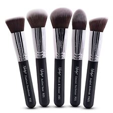 Nanshy Kabuki Cosmetic Makeup Brush Set Foundation Powder Liquid Cream Make Up