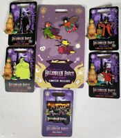 Lot Of 6 Disney 2019 Mikey Halloween Party Collectable Trading Pins LE Hocus Boo